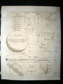 Astronomy C1790 Antique Print. 69